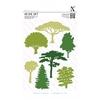 Woodland Trees    per set
