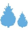 Pine tree set    per set