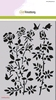 Mask stencil Botanical Rosegarden  A5   per stuk