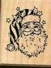 Hoofd van de Kerstman