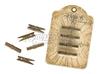 Antique Metal Clothpins   per set