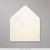 Enveloppe vierkant Vanille 10st. 14x14cm   per set