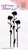 Silhouette Flower 7   per stuk