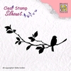 Silhouette Bird Song 1