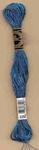 DMC metallic garen blauw   streng 8 mt