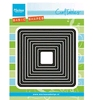 Basic distressed square   per set