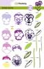 Sweet Violets Step by Step Stempels    per set