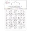 Alphabet Script   per set