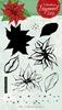 Christmas Layered set nr.09 Poinsettia