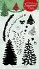 Christmas Layered set nr.07 Dennenboom   per set