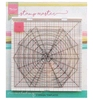 Stamp Master - the square Design template   per stuk