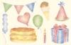 Verjaardag feestje   per stuk