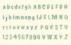 Alfabet en cijfers   per stuk