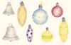 Kerstballen   per stuk