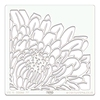 Chrysanthemum 17,78 x 17,78 cm.
