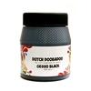Gesso zwart 250 ml   per pot