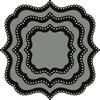 Basic die: Classic square   per set
