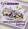 Kreaboekje. Mattie's open passe-partout kaarten   per stuk