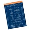 Groovi Plate Mate Calligraphy Alphabet    per set