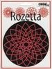 Rozetta embossingmal 2