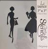 Elegant Ladies 3   17,78 x 17,78 cm.