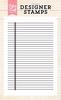 Notebook Background stamp  4