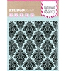 Basic nr.183 Background Stamp Damask   per stuk