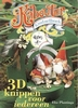 Kabouter knutselboek. 3D knippen voor iedereen.   per stuk