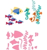 Eline's Tropical fish   per set