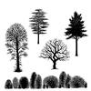 Tree Scene   per set