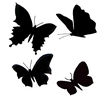 Butterflies   per set