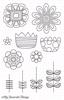 Doodle Blooms   per vel