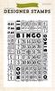 Bingo Card    Background stamp 4