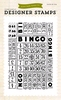 Bingo Card    Background stamp 4