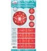 Krimpsleeves Sparkling Christmas nr.04   per set