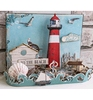 MDF Summer Beach pakket incl. papier   per set