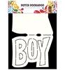 Card Art Text 'Boy'   per stuk