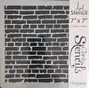 Brick Wall  17,78 x 17,78 cm.