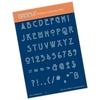 Art Nouveau Alphabet   per stuk
