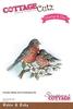 Robin & Baby stamp + die   per setje