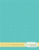 Cross Stitch Embossing Folder   per stuk