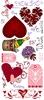 Love 2  DL unmounted stempelvel