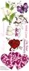 Love 1 (linkervel) DL unmounted stempelvel   per vel