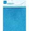 Glitterpapier Blue   per pak
