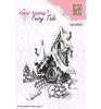 Fairy winter castle