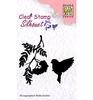 Silhouette Bird Song 3   per set