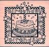 Verjaardagstaart   per stuk