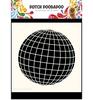 15 x 15 cm Earth / Aardbol   per stuk