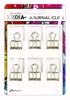 Dina Wakley Media Journal Clips   6pc   per set