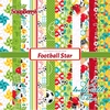 Football Star 6x6 Inch Paper Pack